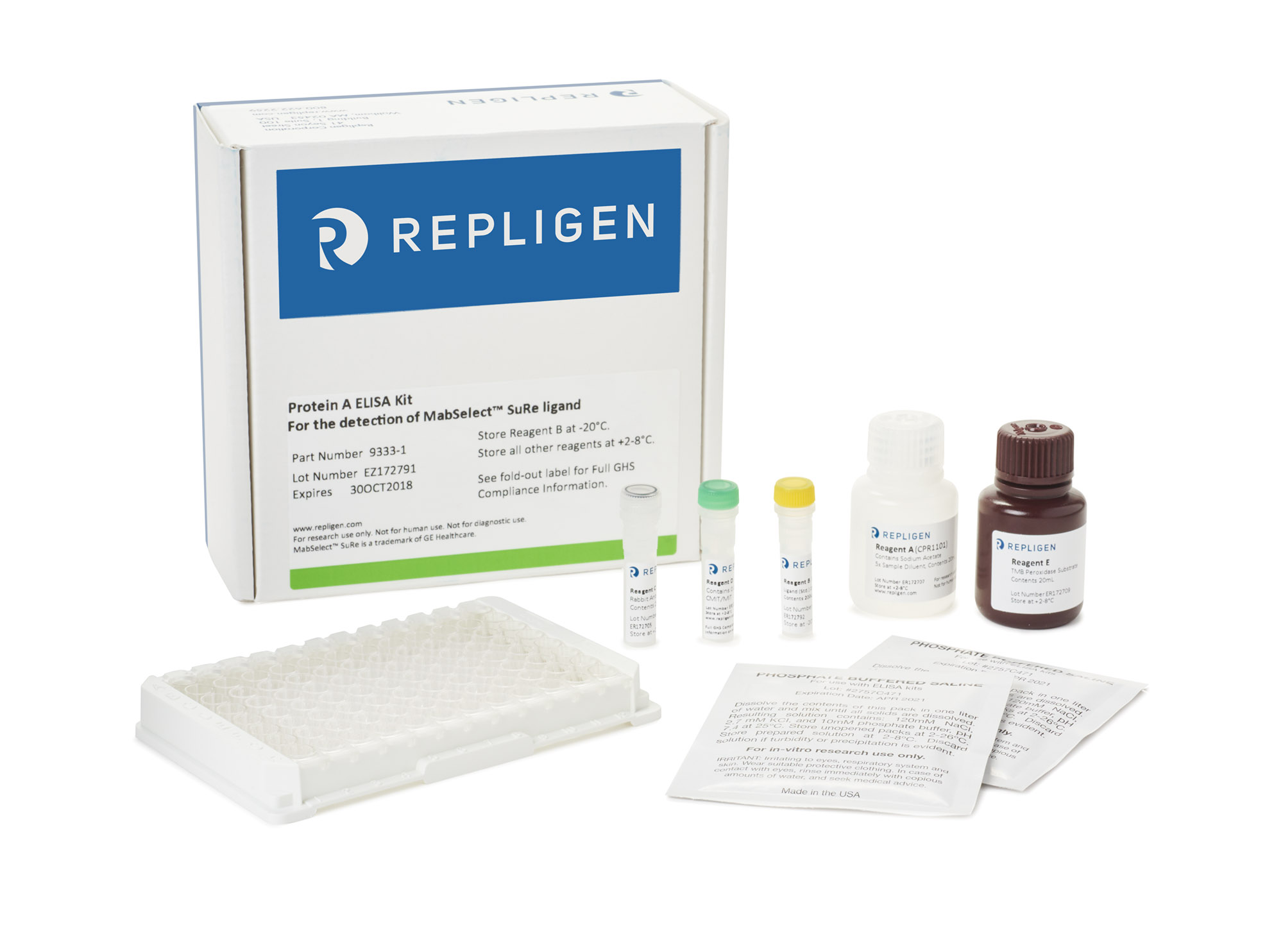 PROTEIN A ELISA KIT FOR MABSELECT SURE™ LIGAND